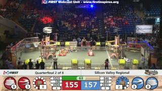 Quarterfinal 2 - 2017 Silicon Valley Regional