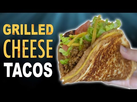 DIY GRILLED CHEESE TACOS