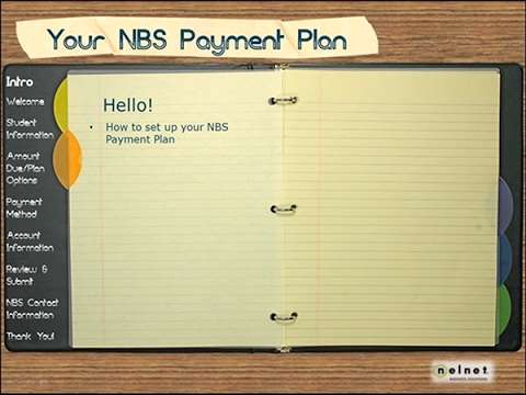 Your NBS Payment Plan SD
