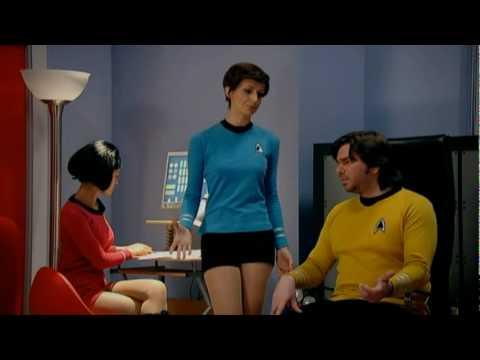 Star Trek on The IT Crowd