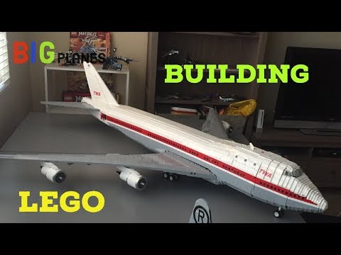 Building a LEGO 747 from start to finish