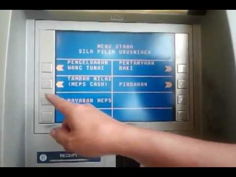 Live Cucuk Kad Payoneer Stiforp di Mesin ATM