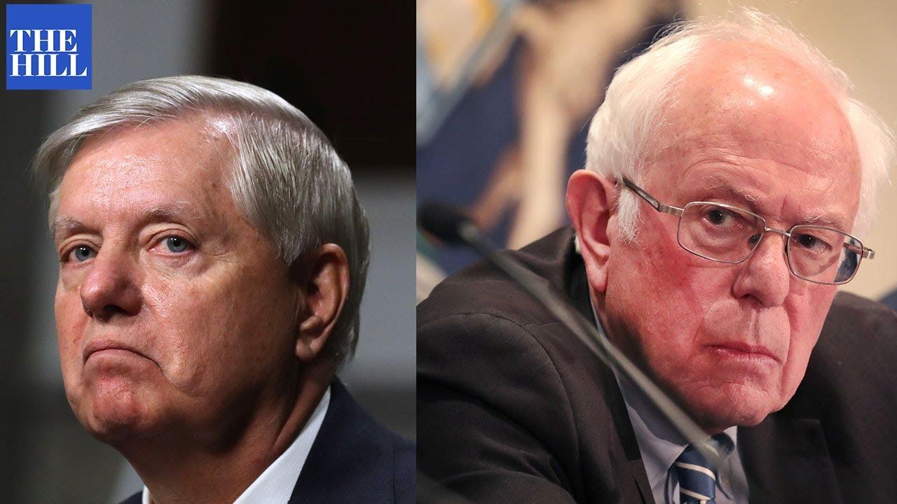 """Bernie Sanders to Lindsey Graham: """"BRING IT ON"""""""