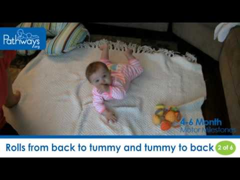 4-6 Month Baby – Motor Milestones to Look For