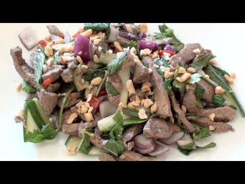 THAI BEEF SALAD WITH 'NAM JIM' - VIDEO RECIPE