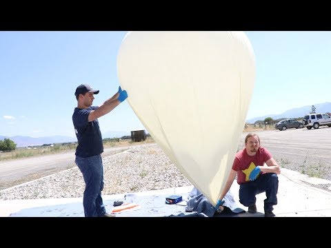 My First High Altitude Balloon