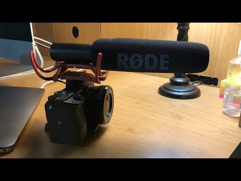 Rode VideoMic Microphone Unboxing and Overview