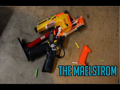 NERF Maelstrom - Indescribable Magstrike x Roughcut Mod