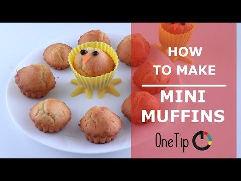 Recetas: Como hacer mini muffins | Recipes: How to make mini-muffins