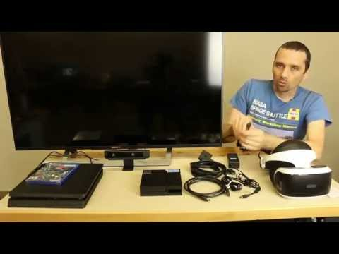 PS4 VR Setup