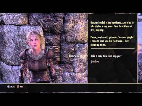 The Elder Scrolls Online console beta Sparking the Flame