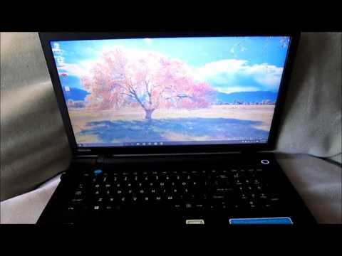 My new Toshiba Satellite  Laptop