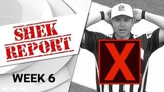 Top 3 Fails of Week 6   Shek Report   NFL