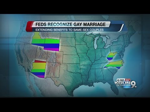 Gay marriage recognized in 6 more states