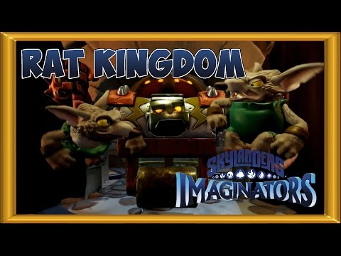 Skylander Imaginators Walkthrough 100% -  Expert Mode |  ALL COLLECTIBLES  | 2 Players - Rat Kingdom