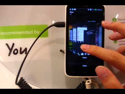 Changing the theme of HTC Sense