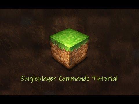 Singleplayer Commands & WorldEdit (im Singleplayer) Installation/Tutorial [German] [HD]