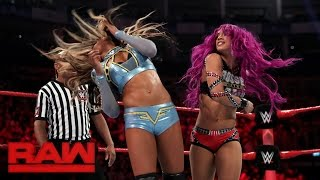 Sasha Banks vs. Alicia Fox: Raw, May 8, 2017