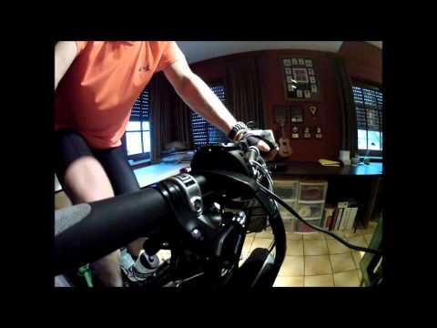 20140108 - Cycling Cadence Training - 80 rpm  (GoPro Hero2 HD)