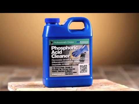 Miracle Sealants - Phosphoric Acid Cleaner