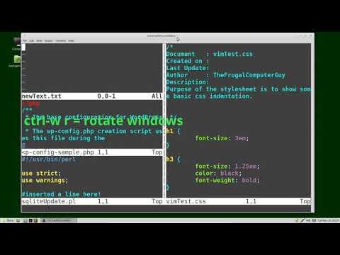 Vim (24) Split-Windows