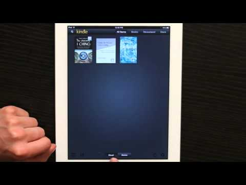 Syncing Amazon Kindle Books From a PC to the iPad : Tech Yeah!