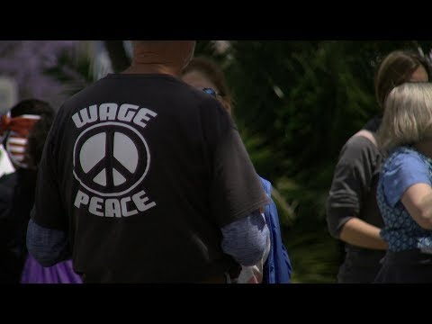 Peace Protest Memorializes The Cost Of War
