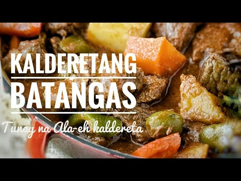 Calderetang Batangas ..How to Cook the best kalderetang Batangas