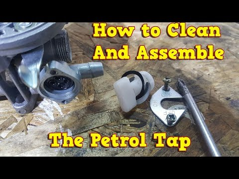 Petrol Tap Cleaning - Assembly Instructions - Pocket Bike, Dirt Bike, Quad