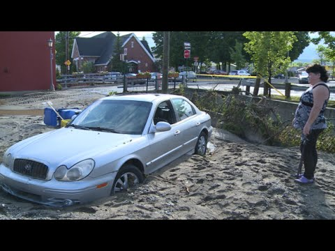 RAW: Quebec townships dealing with huge floods