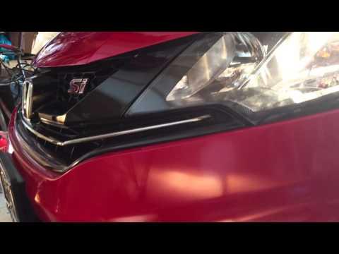 2015 Honda Civic SI - Andrew's new car (Trailer)