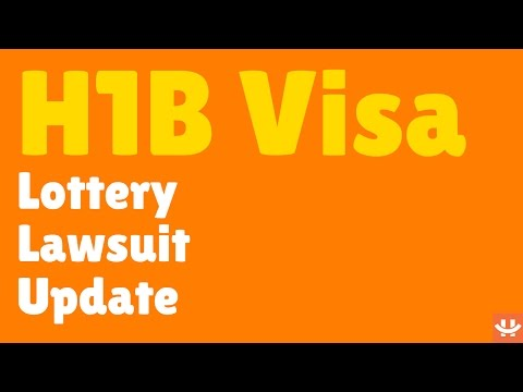 H1B Visa Lottery Lawsuit - Latest Updates March 2017