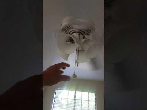 Cealing fan pull chain stuck