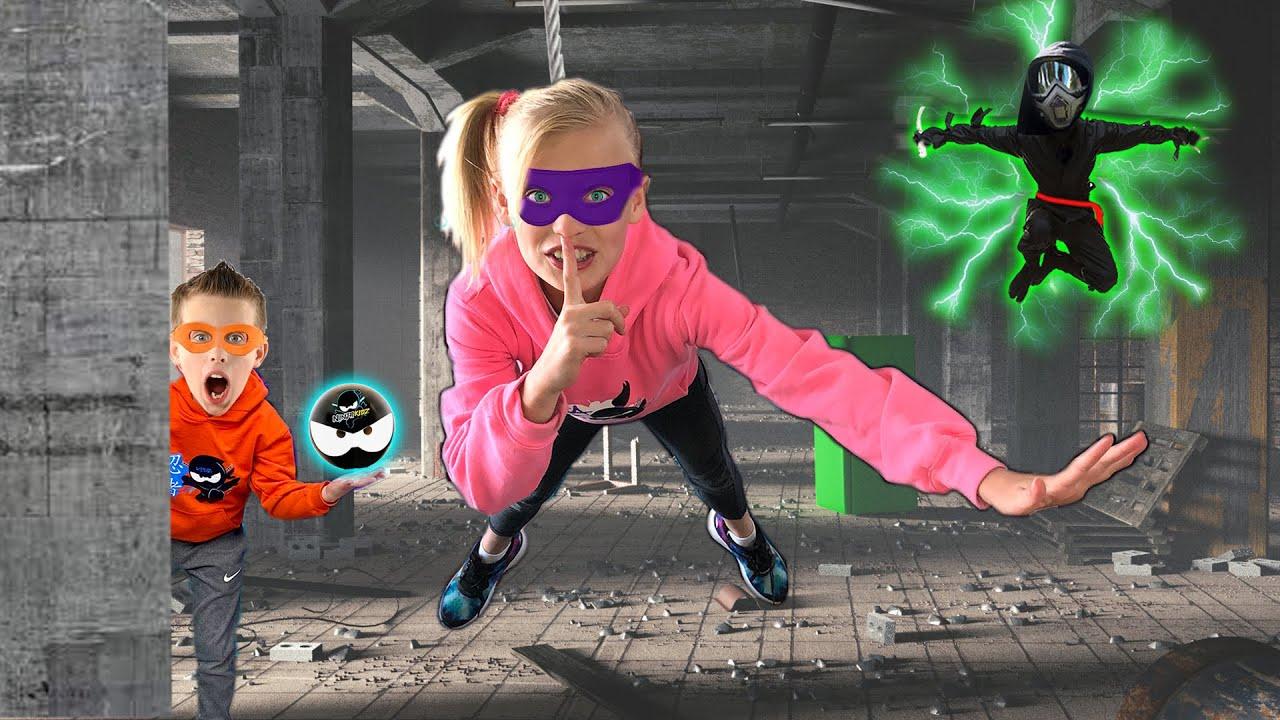 Ninja Kidz Break into Shadow Corporation Headquarters!