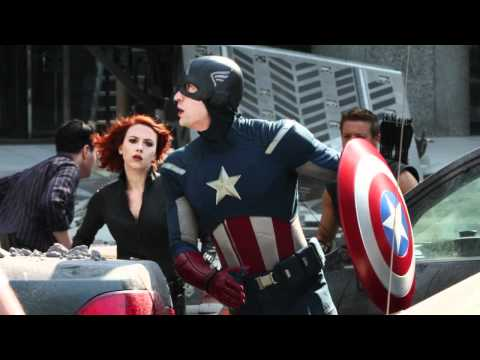 'The Avengers' Take Over New York City In New Set Photos