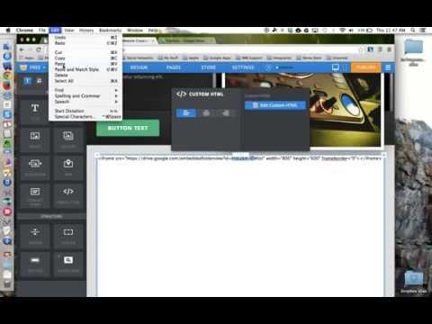 HowTo - Embed a Google Drive Folder