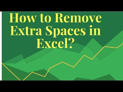 📌How to Remove Extra Spaces in Excel📌