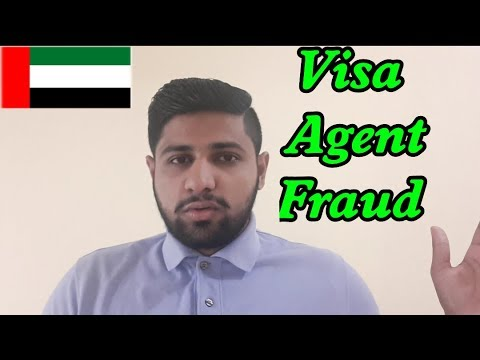Be Alert-Don't Send Money to Any Agent for Visa