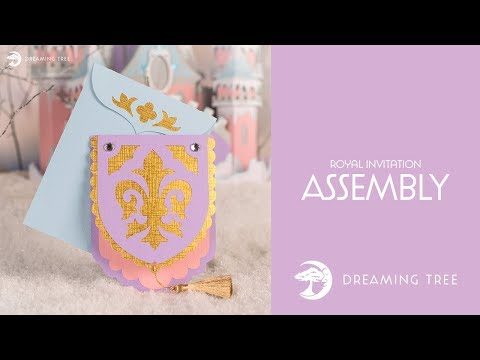 Free SVG - Royal Invitation - Assembly Tutorial