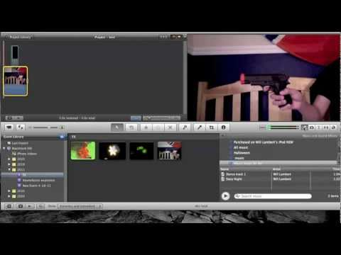 How to do Gun Shot Effect in iMovie 11