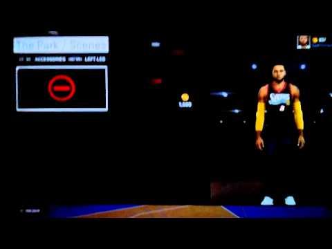 NBA 2k15 Accessories Glitch MyCareer/MyPark