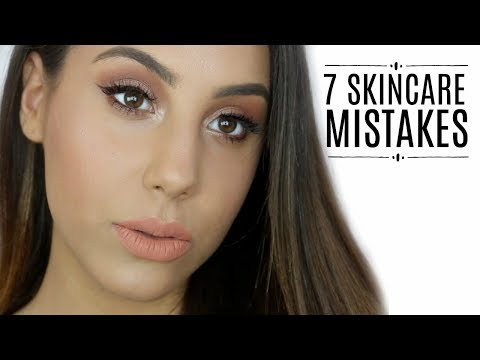 7 HUGE SKINCARE MISTAKES !! GET GLOWING SKIN