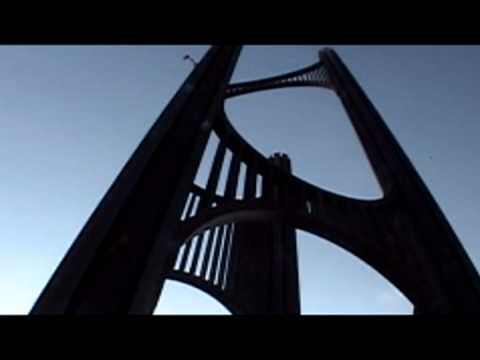 Wind Harp Musical Monument  in South San Francisco