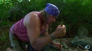 DIY Survival: Fire-Starting with a Fire Piston | Dual Survival