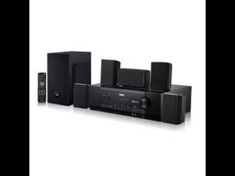 RCA 5.1 Surround Sound 1000 Watt HOME THEATER  RT2781BE