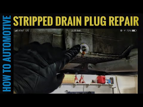 How to Repair a Stripped Out Aluminum Oil Pan