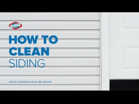 Clorox® How-To : Clean Outdoor Siding (with Clorox® Outdoor Bleach)