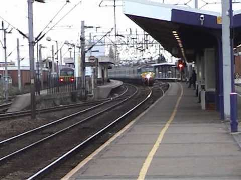 Trains at Colchester 6th June 2004