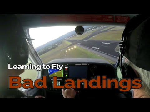 Learning to Fly - BAD LANDINGS | Student Pilot