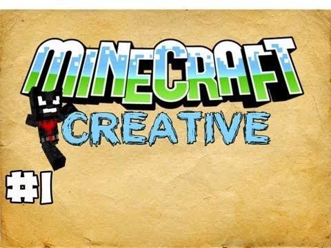 MINECRAFT - CREATIVE: EPISODE 1 - TNT EXPERIMENTS
